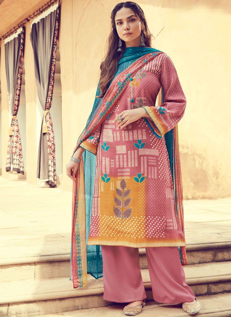 Pashmina Designer Palazzo Suit