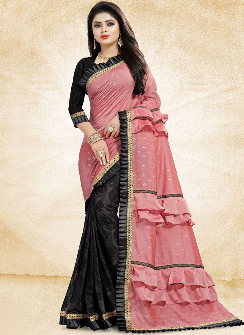 b78208398b Buy Patch Border Ceremonial Designer Traditional Saree Online : 113026 -