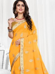Patch Border Designer Saree
