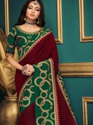 Patch Border Designer Traditional Saree