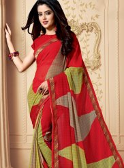 Patch Border Festival Casual Saree