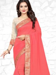 Patch Border Mehndi Casual Saree