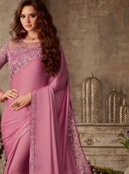Patch Border Silk Trendy Saree