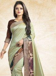 Patch Border Traditional Designer Saree