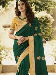 Patch Border Traditional Designer Saree