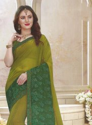 Patch Border Trendy Saree