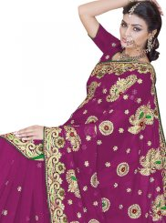 Patch Border Wedding Classic Designer Saree