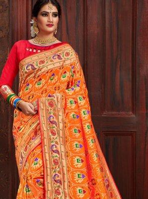 Patola Silk  Reception Designer Traditional Saree