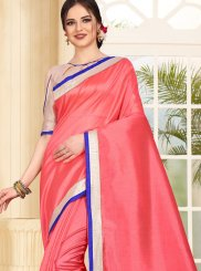 Peach Festival Traditional Saree