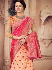 Peach Wedding Designer Lehenga Choli