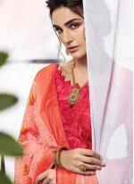 Pink Color Classic Designer Saree