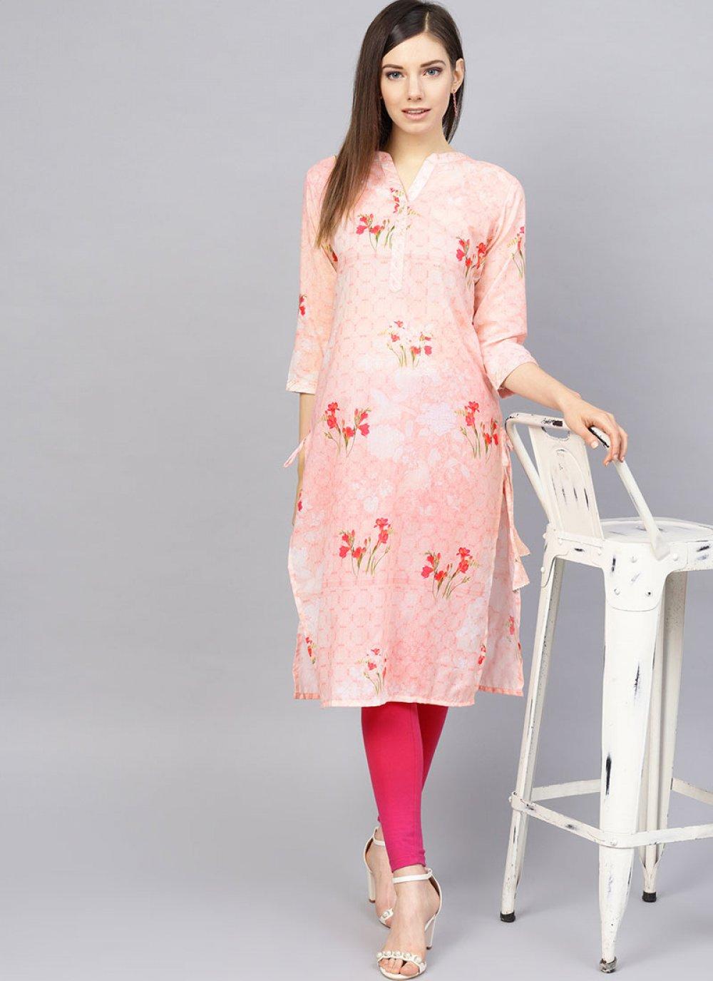 Pink Color Readymade Designer Suit