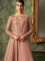 Pink Designer Jacquard Designer Lehenga Choli