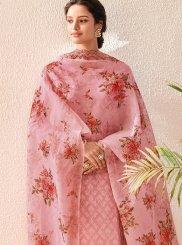 Pink Digital Print Designer Salwar Kameez