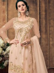 Pink Embroidered Designer Pakistani Salwar Suit