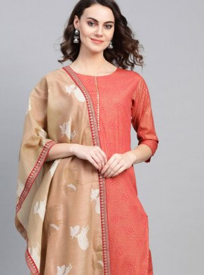Pink Fancy Festival Party Wear Kurti