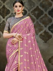 Pink Festival Traditional Designer Saree