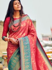 Pink Festival Traditional Designer Saree