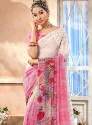 Pink Party Casual Saree