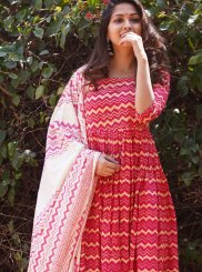 Pink Party Cotton Pakistani Salwar Kameez