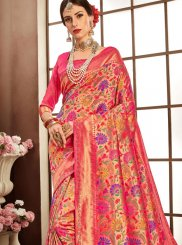 Pink Party Designer Bridal Sarees