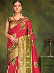 Pink Patola Silk  Classic Designer Saree