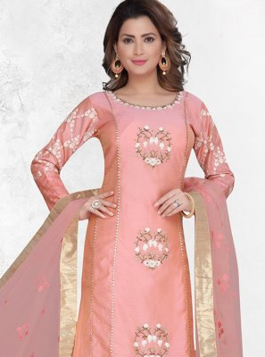 Pink Reception Designer Suit