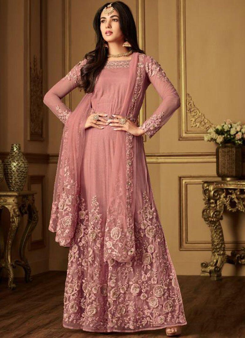 18255bbd6b Buy Pink Sangeet Designer Salwar Kameez : 98229 -