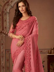 Pink Wedding Designer Traditional Saree