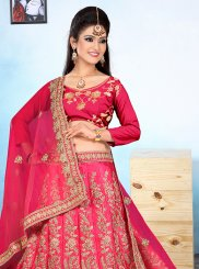 Pink Wedding Trendy Designer Lehenga Choli
