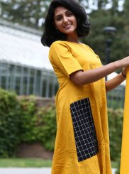 Plain Party Wear Kurti