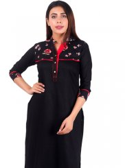 Plain Reception Casual Kurti