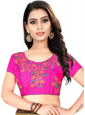 Pleasing Rani Color Designer Blouse