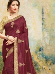 Poly Silk Classic Designer Saree