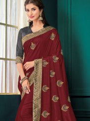 Poly Silk Designer Saree