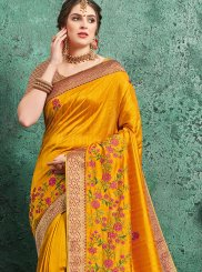 Poly Silk Festival Designer Traditional Saree