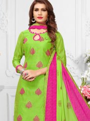 Print Casual Churidar Suit