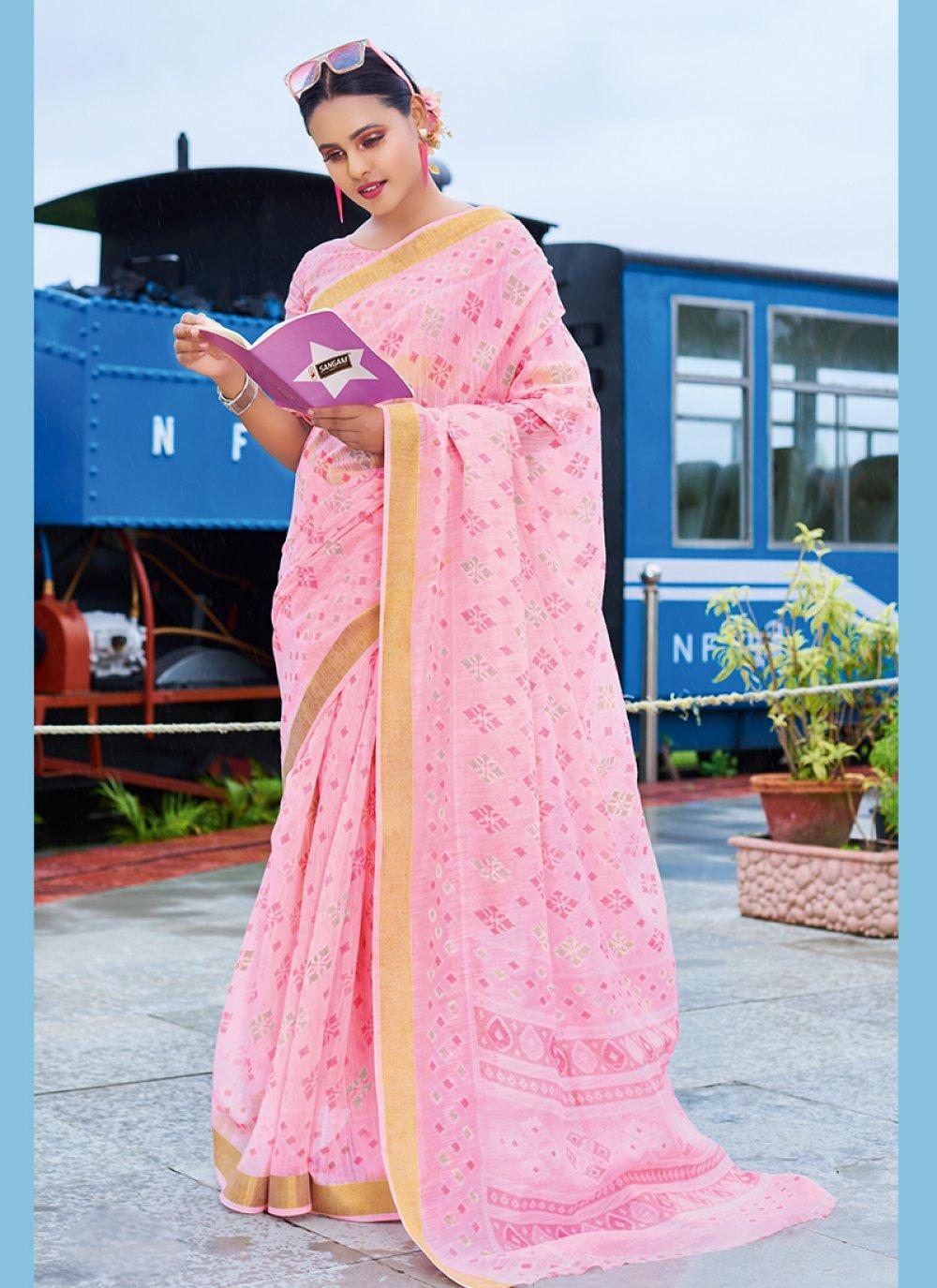 Print Ceremonial Printed Saree