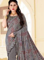 Print Ceremonial Trendy Saree
