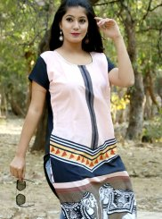 Print Multi Colour Casual Kurti