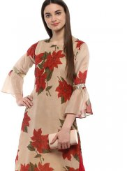 Print Party Wear Kurti