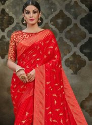 Print Traditional Designer Saree