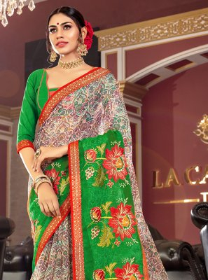 Printed Designer Traditional Saree