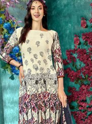 Printed Festival Salwar Suit