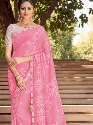 Printed Georgette Classic Saree