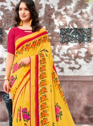 Printed Georgette Trendy Saree