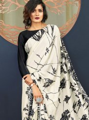 Printed Mehndi Casual Saree