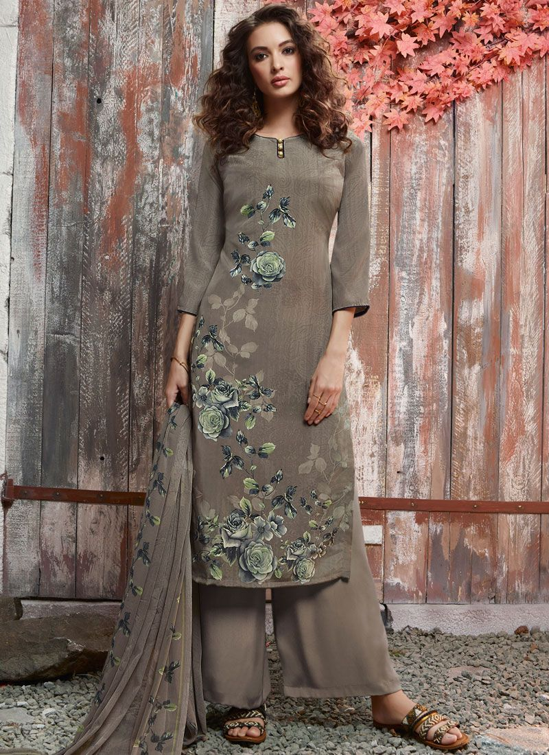 Printed Pant Style Suit