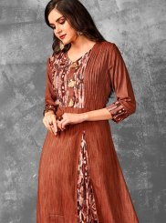 Printed Party Designer Kurti