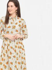 Printed Party Party Wear Kurti